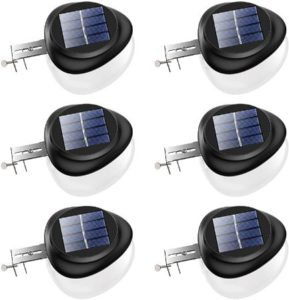 Outdoor LED Solar Gutter Lights Set