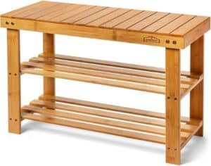 Premium Wooden Shoe Rack Bench