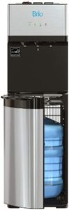 Water Dispenser With Back Panel Switches