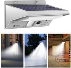 Waterproof Solar Gutter Light With 3 Lighting Modes